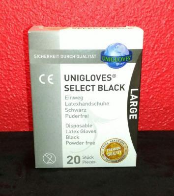 Hygiene gants noirs 20 200420